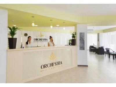 «Orchestra Horizont Gelendzhik Resort» / «Оркестра Горизонт Геленджик Резорт» (быв. ЛОК Горизонт),   холл, ресепшен
